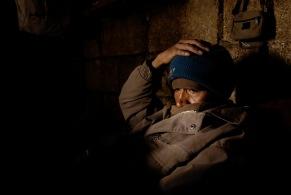 QUITO (22-03-10).- Joaqu'ín Aules, de 41 añ–os, permanece en cama, después de la Administració—n de Justicia Indígena del pasado 17 de marzo, por robar 10 borregos, en la comunidad de Cochapamba, de la parroquia Cangahua, en el cant—ón Cayambe. Alfredo Cárdenas.